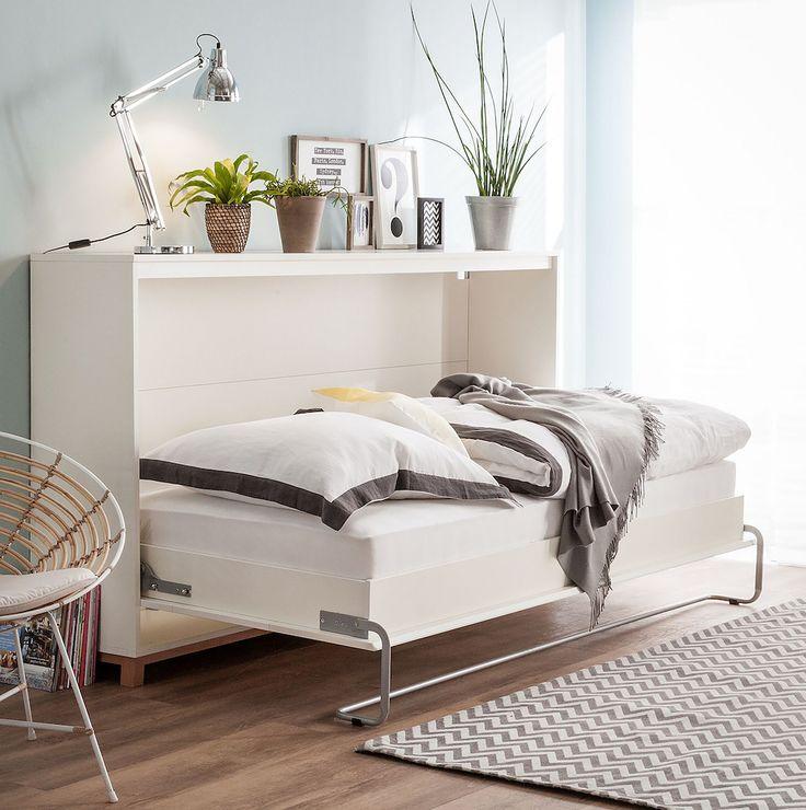 platzsparendes schrankbett lindholm fr kleine rume und multifunktionsrume wie wohn schlafzimmer oder arbeits