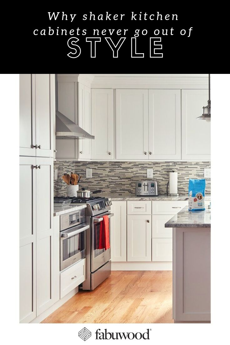 why shaker style kitchen cabinets never go out of style fabuwood rh pinterest com
