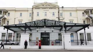 Brighton hospital trust unsafe and poorly led  BBC News