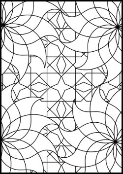 coloring pages islamic patterns images - photo#16