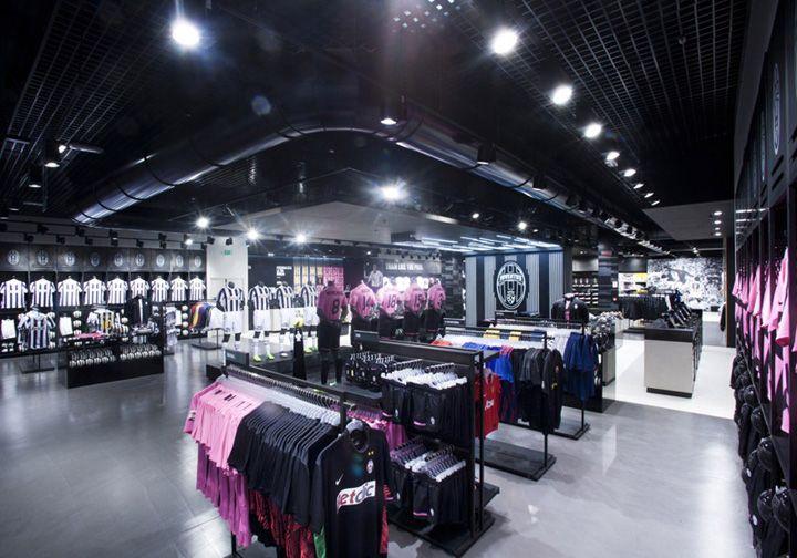 Juventus Store by NIKE, Turin store design