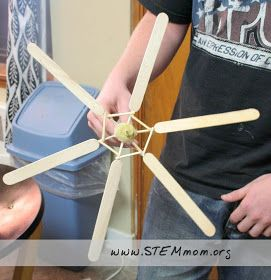 Student example 3 of Wind Turbine: from STEMmom.org