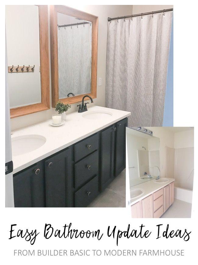 easy hall bathroom overhaul  sypsie designs  easy