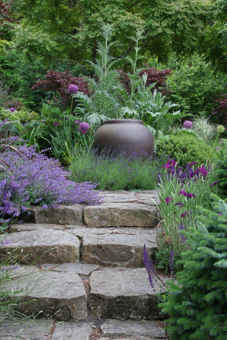11875 best landcaping on a slope images on pinterest for Mosaic landscape design