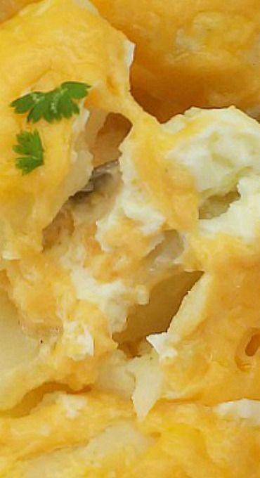 Cheesy Buttermilk Potato Casserole