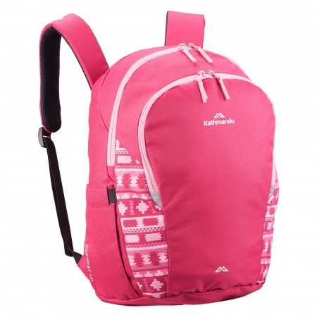 CC likes that this is pink but prefers the ones with pictures. Buy Copycat 22L Kids' Laptop Backpack v2 - Hot Pink online at Kathmandu $35 frm $70