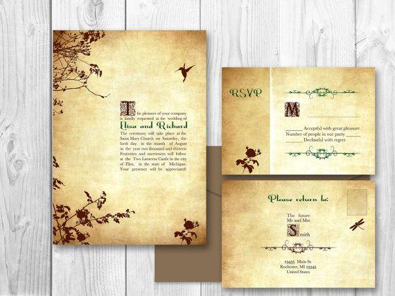 Romantic Wedding Invitation Wording: 17 Best Ideas About Romantic Wedding Invitations On