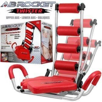 Ab Rocket Twister Abdominal Workout Machine