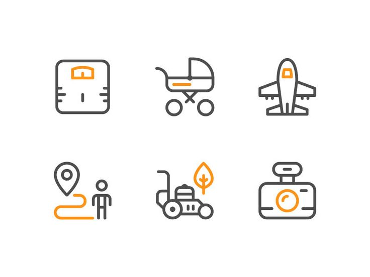 Service icon on Behance