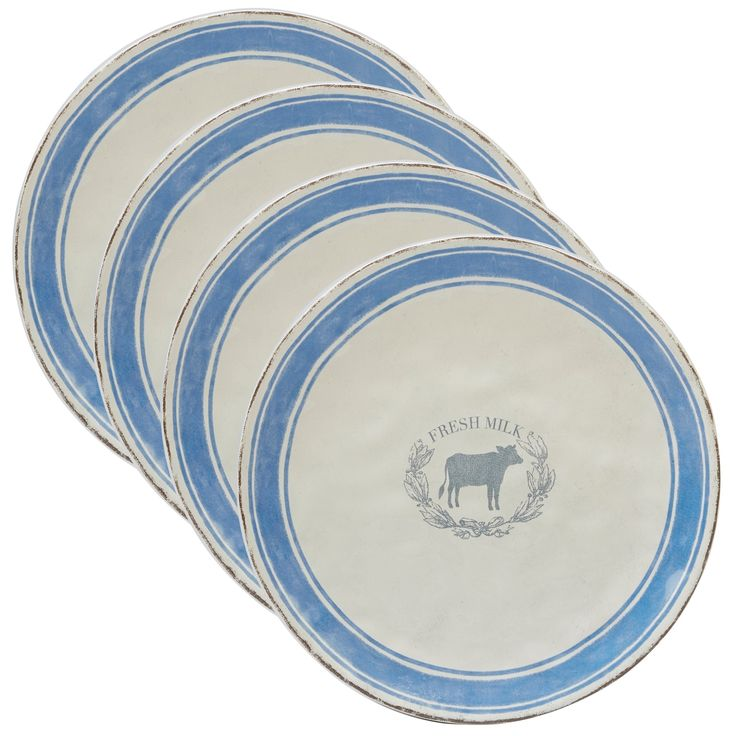 Certified International Urban Farmhouse Dinner Plates