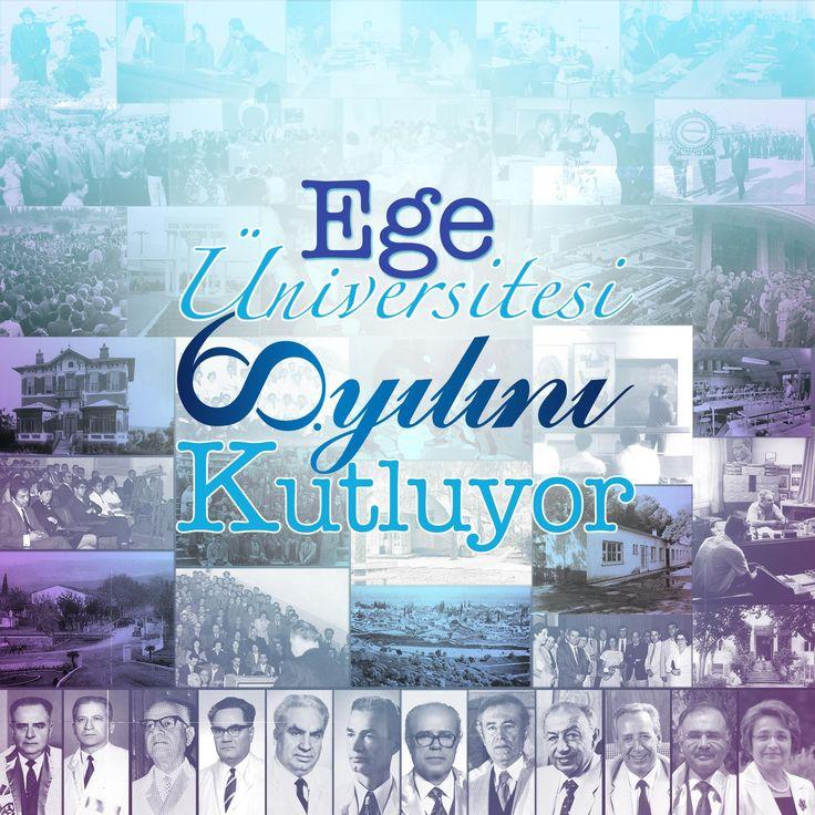 Üniversitemiz, 60. kuruluş yılını çalışanından öğrencisine, emeklisinden mezununa kadar tüm mensup ve paydaşlarıyla birlikte coşkuyla kutlayacaktır. 1 Ocak- 31 Aralık 2015 tarihleri arasında devam edecek olan 60. Yıl Kutlama Etkinliklerine, başta 70 bin kişilik Ege Üniversite Ailesinin üyeleri olmak üzere, hem dünyanın hem ülkemizin çeşitli yerlerine dağılmış olan yaklaşık 200 bin mezunumuz, emeklilerimiz ve tüm İzmirlileri bekliyor, 60. yılımız kutlu olsun diyoruz. #egeuniversitesi #60 #yil