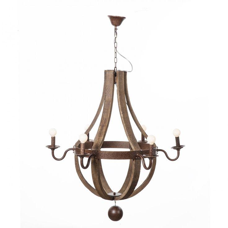 Hvitsen Wood Chandelier http://www.franceandson.com/hvitsen-chandelier.html
