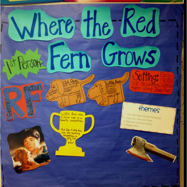 where the red fern grows theme essay A discussion of the where the red fern grows themes running throughout  where the red fern grows great supplemental information for school essays  and.