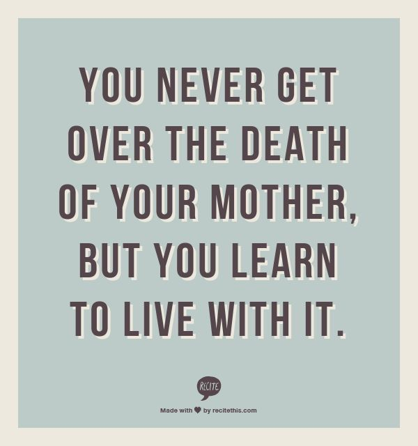 Image result for on the anniversary of your mother's death