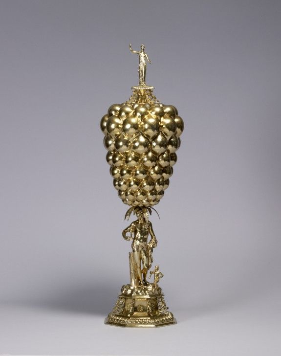 "Covered ""Grapes"" Cup with Bacchus · The Walters Art Museum · Works of Art"