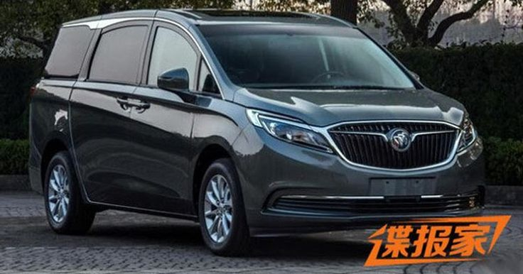 This New Buick GL8 Minivan Is For China Only #Buick #Buick_GL8