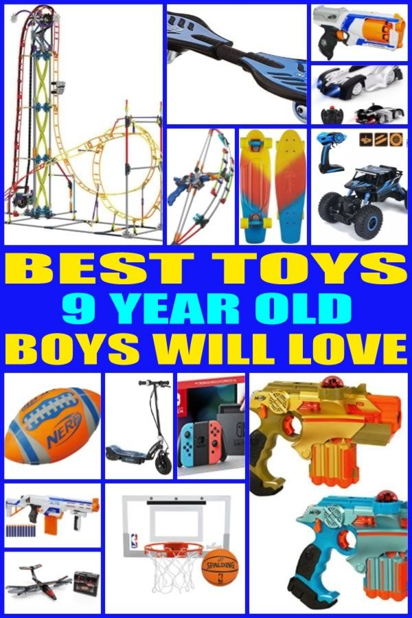 Best Toys For 9 Year Old Boys Birthday Gifts For Boys Christmas Gifts For Kids 9 Year Olds