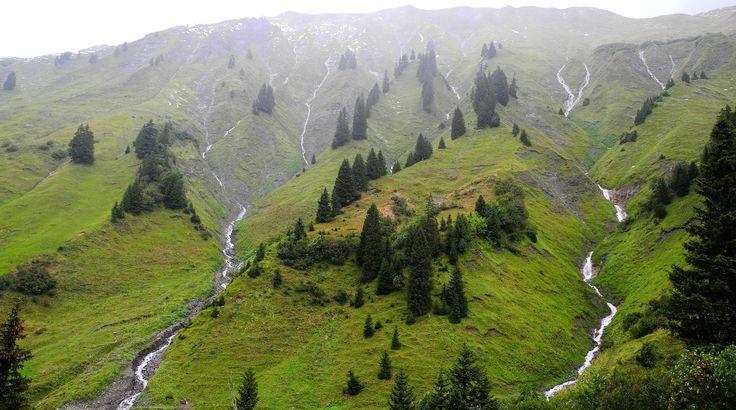 Alpes Orientales Centrales en Austria.