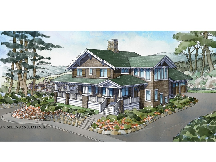 ePlans Craftsman House Plan 2868 Square Feet and 3