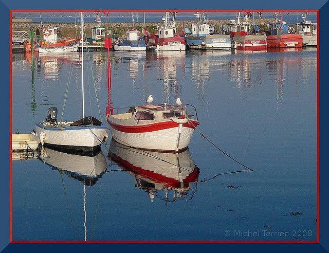 Sun on Loctudy's harbour / Soleil sur le port de Loctudy #myfinistere #Finistère #Bretagne #Brittany