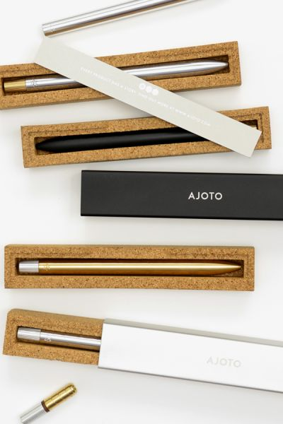 The Pen by AJOTO. A Kickstarter funded fine writing instrument. I love tech but nothing beats analog.