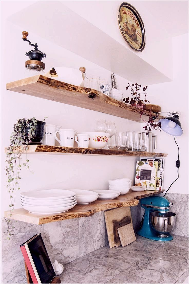 decorative kitchen storage shelves, small kitchen big ...