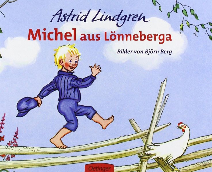 I am reading it at the moment in swedish!  It is so weird that Michel is emil in the real swedish version!!!