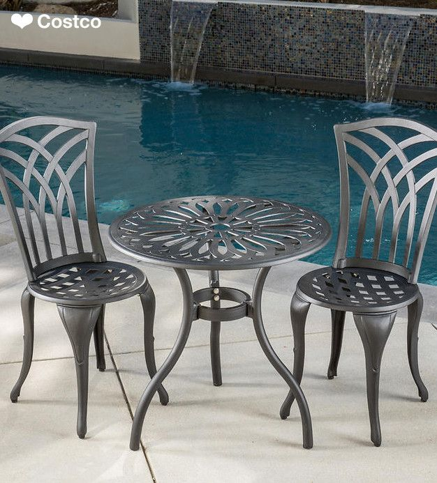Just The Sight Of The Malibu 3Pc Bistro Set Will Make You 400 x 300