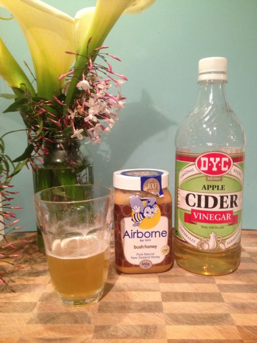 Sore throat cure/remedy: Apple cider vinegar and honey. Works for all sore throats including strep throat.