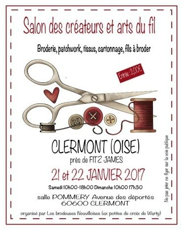 Salon arts du fil de clermont de l oise 1