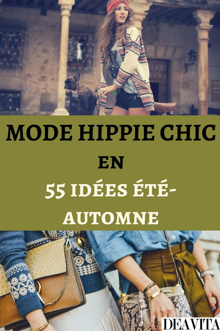 les 25 meilleures id es concernant ann es 70 mode hippie. Black Bedroom Furniture Sets. Home Design Ideas