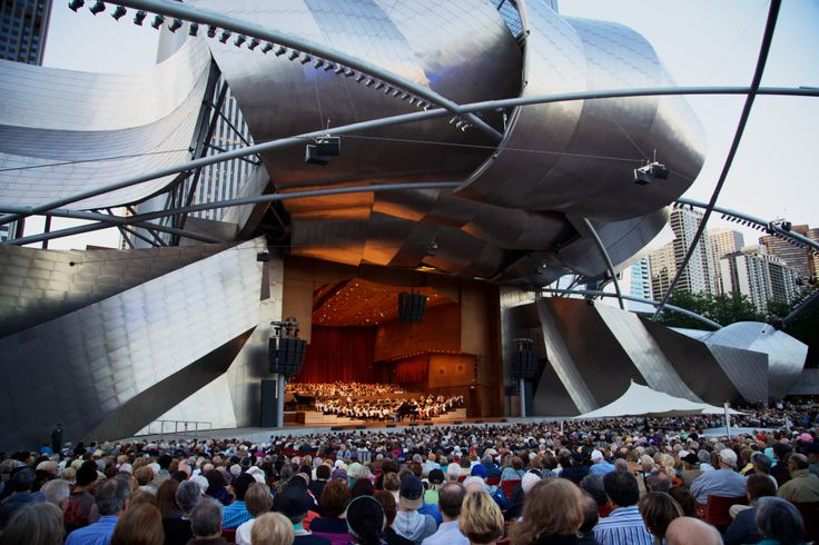 The Jay Protzker Pavilion in Millennium Park will be the site of 30 free concerts during the summer 2017 season. (Photo: ....)