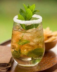 Honey Lime Mint Iced Tea