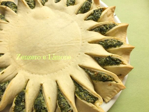 SUNNY SPINACH PIE -