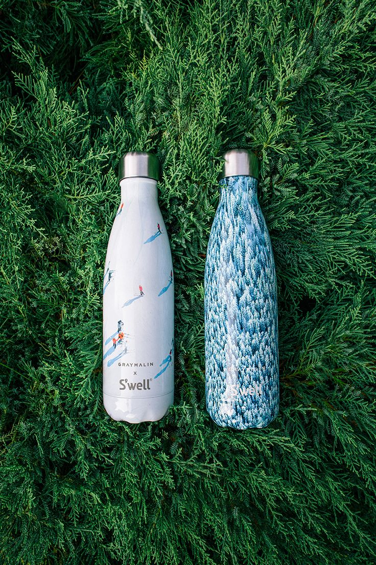 New holiday water bottles from Gray Malin x S'well