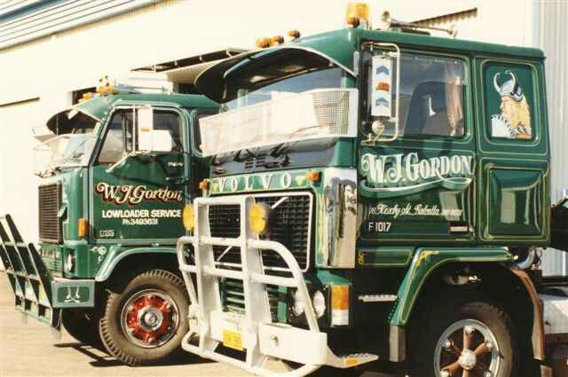 W.J Gordon Couple fine examples of Volvo G88 and F10