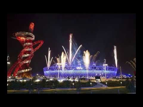 Copy of CLASSIC SAUCER OVER LONDON OLYMPICS OPENING CEREMONY - UFO MAN - YouTube