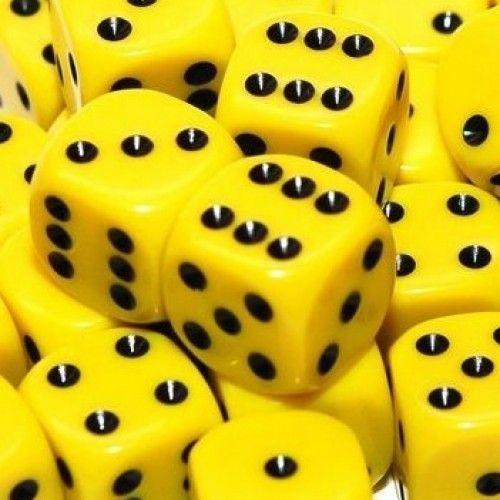yellow.quenalbertini: Yellow dices
