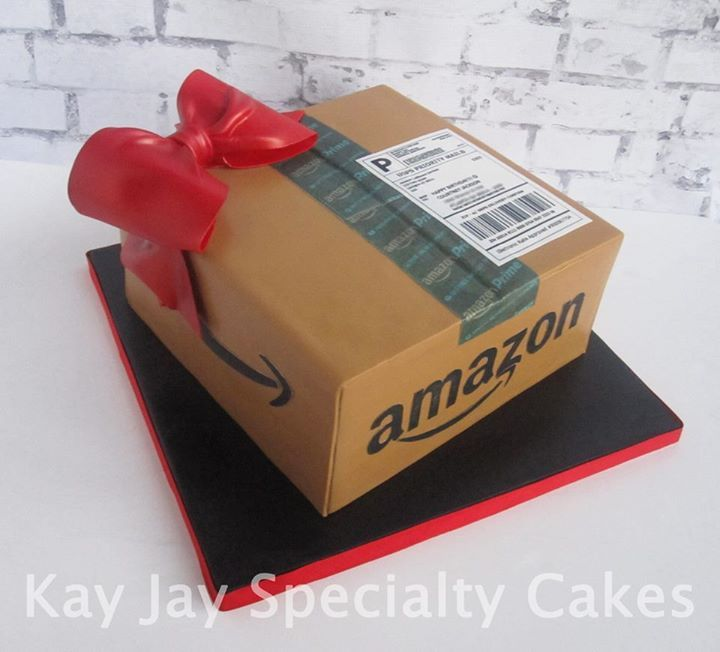 Amazon Package Cake Different View All Edible