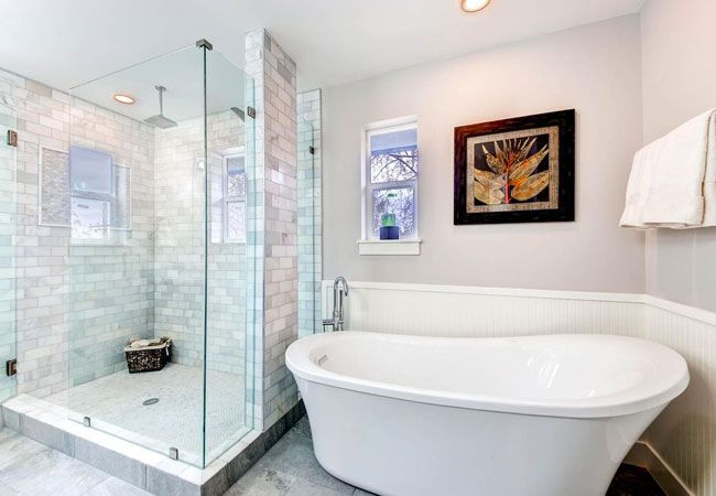 774 best bathrooms bob vila 39 s picks images on pinterest for Best paint to use in bathroom