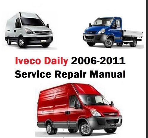 iveco daily wiring diagram iveco image iveco daily service repair manual euro 4 2006 2011 general on iveco daily wiring diagram