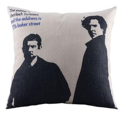 Сushion Sherlock Holmes http://loft-concept.ru/catalog/podushki/ Декоративная подушка Шерлок Холмс