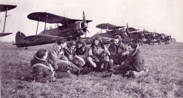 GLADIATORS             2              Newer Older  Gloster Gladiators and crews of No.615 Squadron in France during the Phoney War.1940              2              Newer Older  Gloster Gladiators and crews of No.615 Squadron in France during the Phoney War...1940