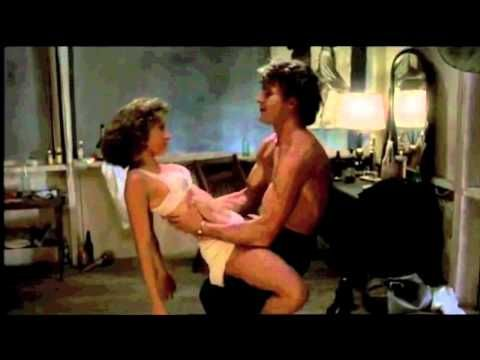 water scene and more Dirty Dncing with Patrik Swayze and Jennifer Grey - YouTube