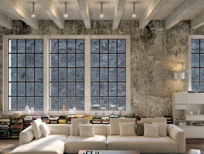 1-loft-et-associé-salon-style-industriel-tapis-beige-dans-le ...