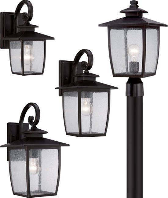 Discontinued Quoizel Bradley Outdoor Collection   Clearance Quoizel  Clearance Sale   Call Brand Lighting Sales 800