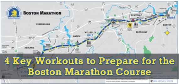 4 Key Workouts to Prepare for the Boston Marathon Course : Runners Connect