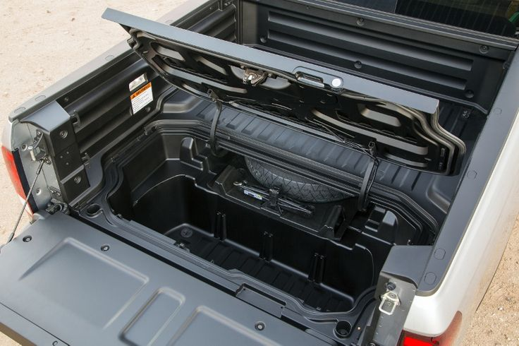 2017 Honda Ridgeline Truck Bed Storage Pictures  Bed Dimensions