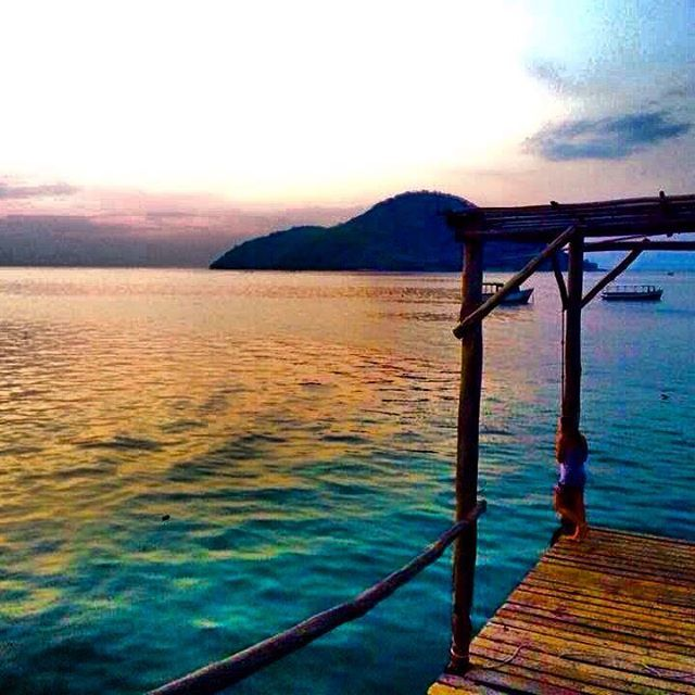  Dreaming of paradise   Cape Maclear, Malawi  