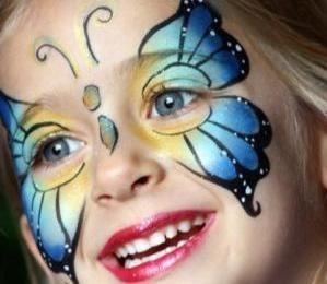 Maquillaje infantil  para el carnaval